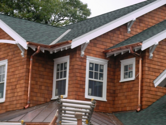 AZ Best Roofing self-sustainable cedar shake siding Cos Cob CT